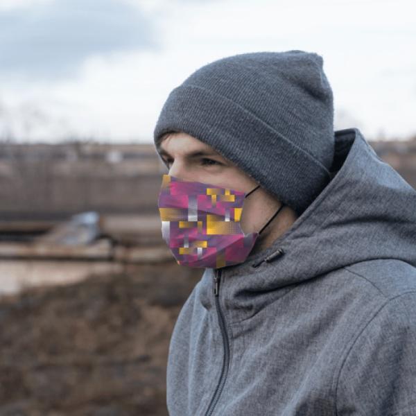 Grillwork Custom Cloth Mask