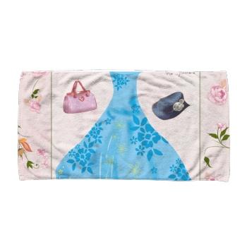 Beautiful Skirt Custom Towel