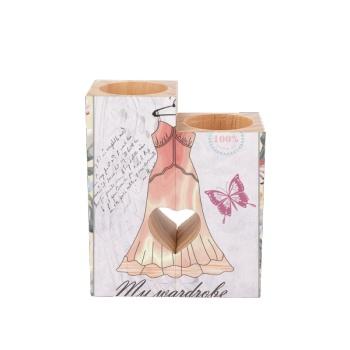 Beautiful Skirt Custom Candle Holder