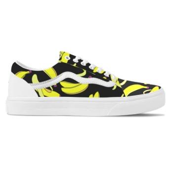 Cute Banana Custom Skate Shoes