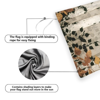 Returning To Their Roots Custom Garden Flag (Double-Sided 12Inch-18Inch)