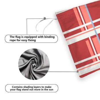 Block Chart Custom Garden Flag (12Inch-18Inch)