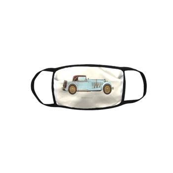 Retro Cars Custom Bound Mask