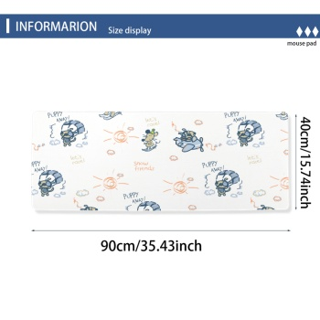 Funny Mouse Custom Lock Edge Mouse Pad (15.74Inch-35.43Inch)