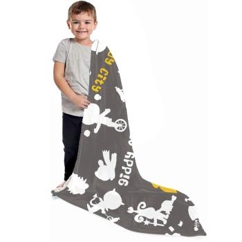 Cartoon Pattern Custom Children's Blanket