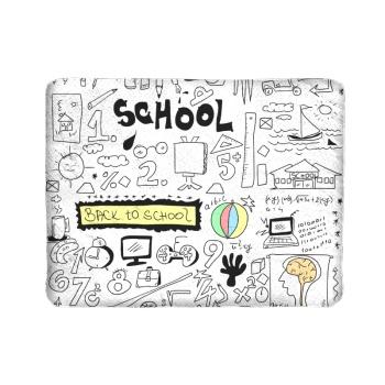 Freehand Sketching Custom Children's Blanket