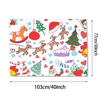 Merry Christmas Custom Baby Blanket