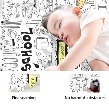 Freehand Sketching Custom Baby Blanket (Vertical)