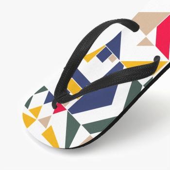 Pattern Design Custom Flip Flops