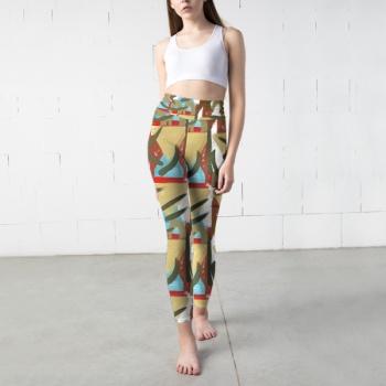Pattern 2 Custom Yoga Pants