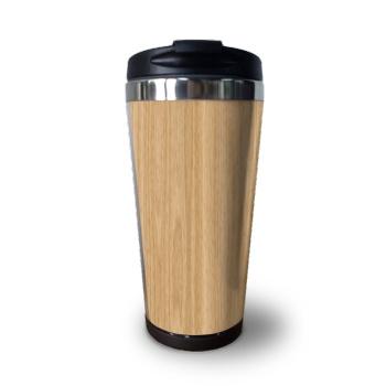 Wood texture Custom Coffee Cup