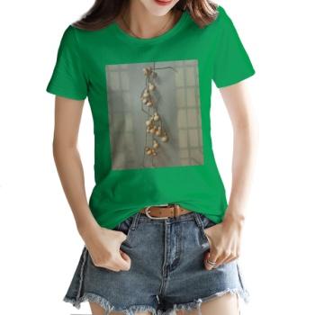 Gourd Custom Women's T-shirt Green