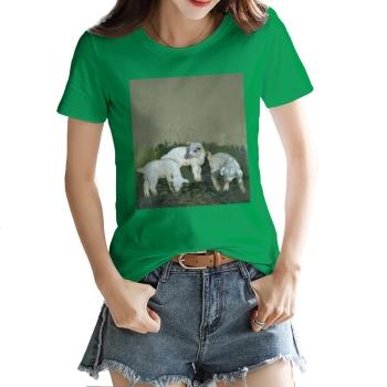 Three brothers Custom Women's T-shirt Green