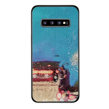 City lights Custom Phone Case For Samsung Galaxy S10