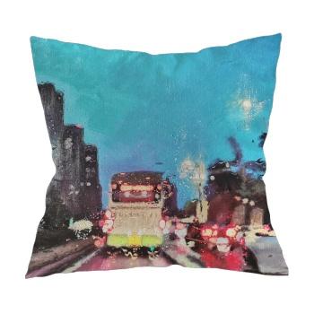 City lights Custom Pillowcase