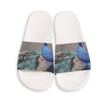 Dancer Custom Slippers White