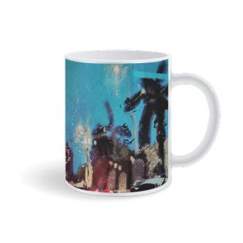 City lights Custom Mug