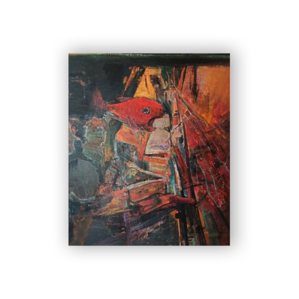 Red fish Custom Hanging Picture Decoration Picture,Canvas Print