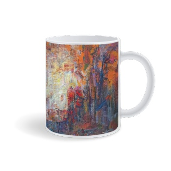 Silk roads Custom Mug