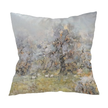 Chating under the moon 6 Custom Pillowcase