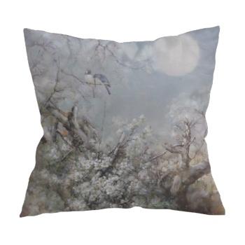 Chatting under the moon 1 Custom Pillowcase