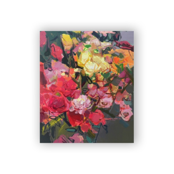 Flower feast 8 Custom Hanging Picture Decoration Picture,Canvas Print