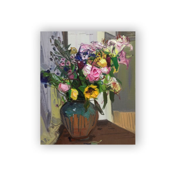 Flower feast 3 Custom Hanging Picture Decoration Picture,Canvas Print