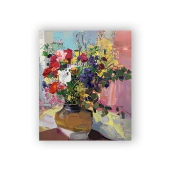 Flower feast 5 Custom Hanging Picture Decoration Picture,Canvas Print