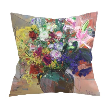Flower feast 5 Custom Pillowcase