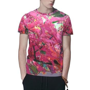 Sunrise Custom All Surface  Men's T-shirt