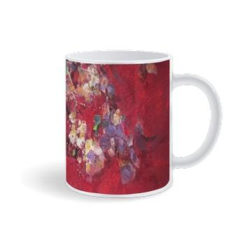 Birds and flowers 2 Custom Mug