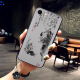 Devout heart Custom Toughened Phone Case For Iphone 8