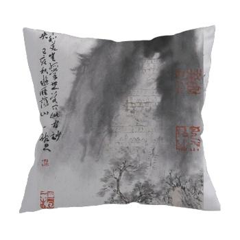 Goddess of mercy hole Custom Pillowcase