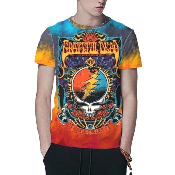 Grateful Dead 2 Custom All Surface  Men's T-shirt
