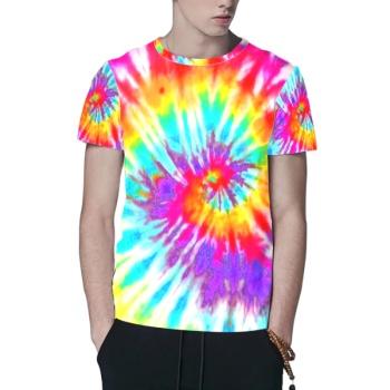 Color rotation Custom All Surface  Men's T-shirt