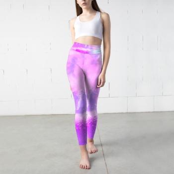 Color cloud Custom Yoga Pants