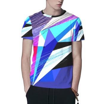 Lovely Abstract Custom All Surface  Men's T-shirt