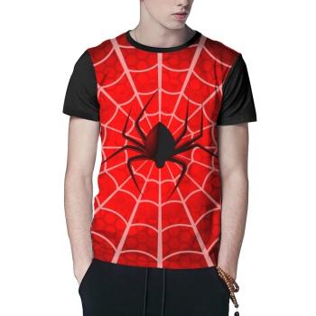 Spider Web Custom Men's Crew-Neckone T-shirt