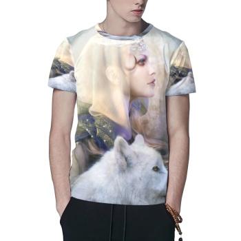 Luna Custom All Surface  Men's T-shirt
