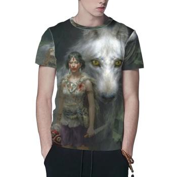 Princess Mononoke Custom All Surface  Men's T-shirt