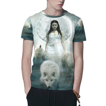 Werewolf Custom All Surface  Men's T-shirt