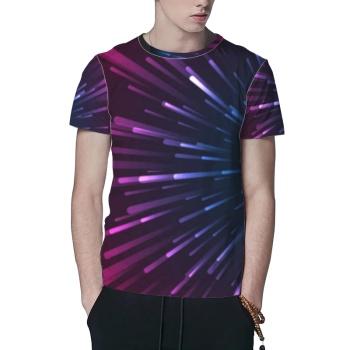 Star Track Custom All Surface  Men's T-shirt