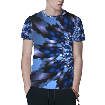 Kaleidoscope Custom All Surface  Men's T-shirt
