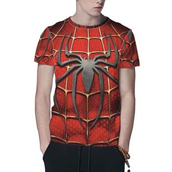 Spider Web Custom All Surface  Men's T-shirt