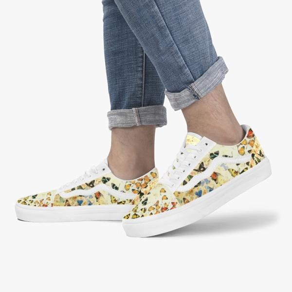 butterfly Custom Skate Shoes