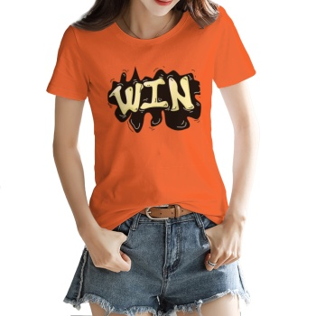 Trend Custom Women's T-shirt Orange