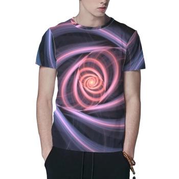 Abstract fractal Custom All Surface  Men's T-shirt