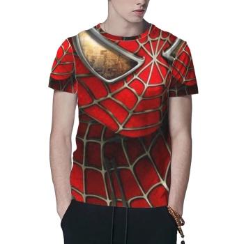 spider man Custom All Surface  Men's T-shirt
