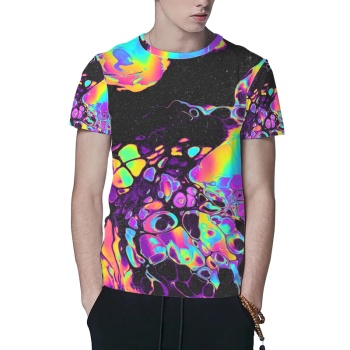 Syaimn Custom All Surface  Men's T-shirt