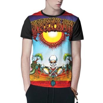 Grateful Dead Custom Men's Crew-Neckone T-shirt